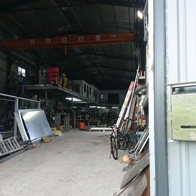 駿業鋼鋁門窗鍛造
