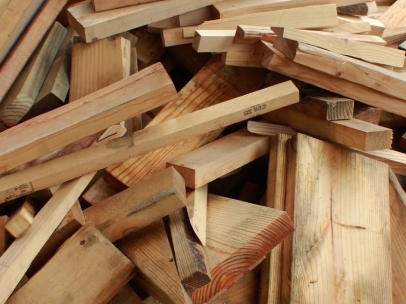 竹、木、藤材